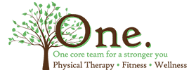 One Physical Therapy & Fitness logo.