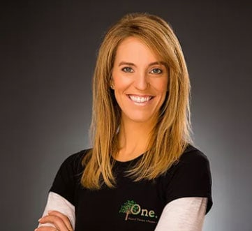Jennifer Kyritsis Balducci of One Physical Therapy & Fitness.
